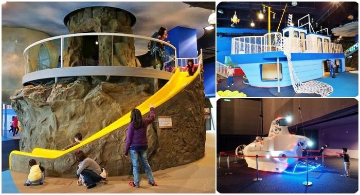 基隆》跟鯊魚比賽看誰跑得快!溜滑梯玩到飽,出乎意料,精彩好玩的基隆國立海洋科學博物館 🚀 @捲捲頭 ♡ 品味生活
