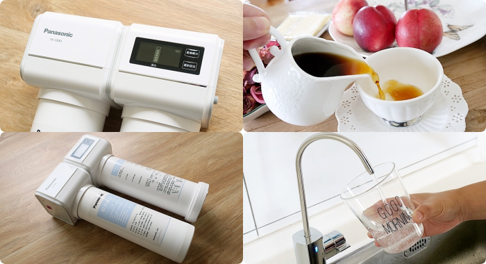 Panasonic TK-CB50 櫥下型淨水器⎪軟水淨水雙重功能一次搞定。安裝快速,更能依照燈號顯示提醒自行更換濾芯喔! @捲捲頭 Wonderful 品味。生活