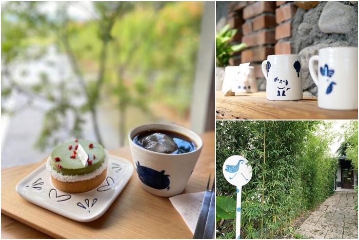 三星景點⎮三星四季青花瓷。坐落溪畔落羽松,手作課程超熱門,還有超美系甜點下午茶! @捲捲頭 ♡ 品味生活