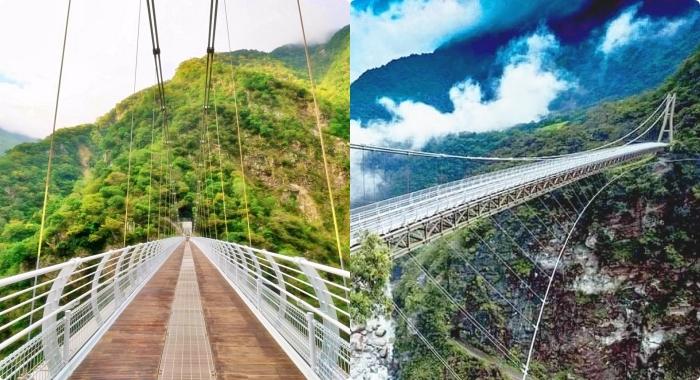 花蓮景點⎟布洛灣山月吊橋。購票、交通、周邊景點推薦,藏身於絕美峽谷內的夢幻吊橋! @捲捲頭 ♡ 品味生活
