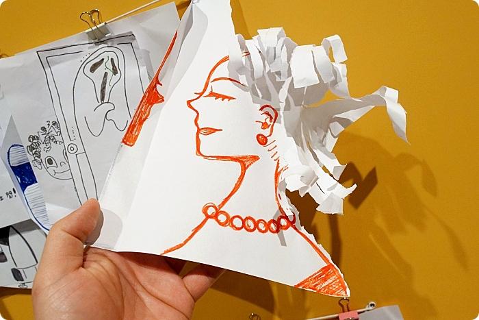 奇美博物館【紙上奇蹟2 : 無所不彈】來看紙機關玩偶會飛!會跳!會咬人!神級紙雕石膏像,還有七大互動區從頭玩到尾,快來打卡一波! @捲捲頭 ♡ 品味生活