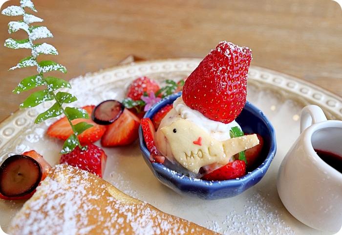 花蓮》法式草莓冰淇淋舒芙蕾鬆餅,入口即化鬆軟美味,還有夢幻粉紅草莓果昔,絕對讓妳粉紅少女心大爆發! @捲捲頭 ♡ 品味生活