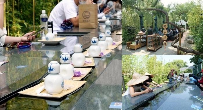 台南》深緣及水善糖文化園區 ▏好玩的茶杯漂漂河!曲水流觴對飲暢談超有氣氛,竹林綠X流水茶X發貴鳳梨酥,超人氣的文青朝聖地~ @捲捲頭 ♡ 品味生活