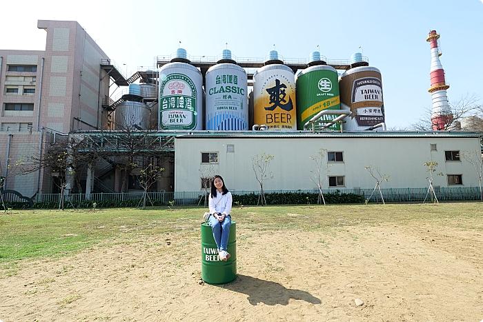 苗粟》竹南啤酒廠。巨人啤酒桶排排站,化身迷你奇兵拍照好可愛~ @捲捲頭 ♡ 品味生活