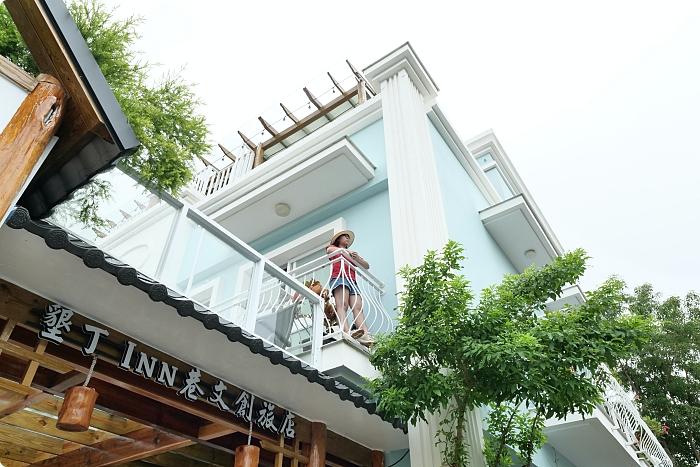 墾丁住宿》夢幻島Inn巷文創旅店。秒飛威尼斯!專屬陽台、露天浴池與發呆亭還有泳池漂浮早餐~ @捲捲頭 ♡ 品味生活