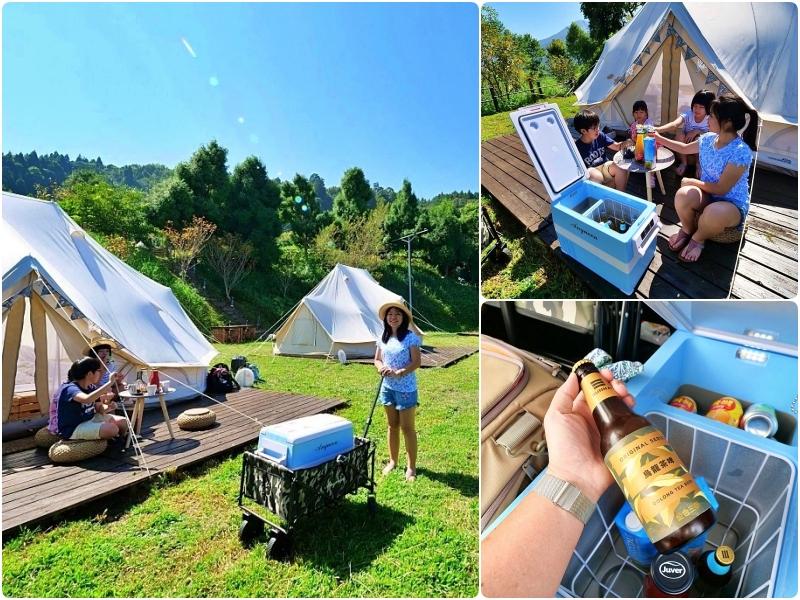露營好物》安晴Anqueen行動冰箱 。露營在走,美食要有!擺出野外迷你吧台,準備一起開趴去~ @捲捲頭 ♡ 品味生活
