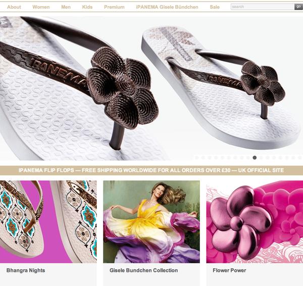 <英國購物> 人字拖第一品牌 Ipanema吉賽兒。全球免運費 @捲捲頭 Wonderful 品味。生活