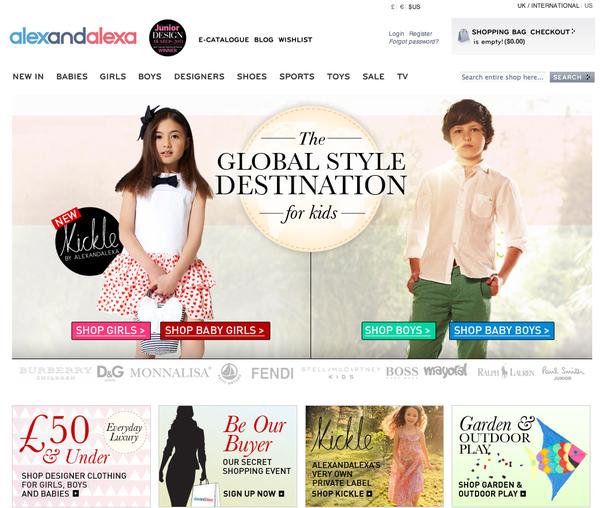 <英國alexandalexa頂級精品童裝。全球免運費>網購教學 (上) @捲捲頭 Wonderful 品味。生活