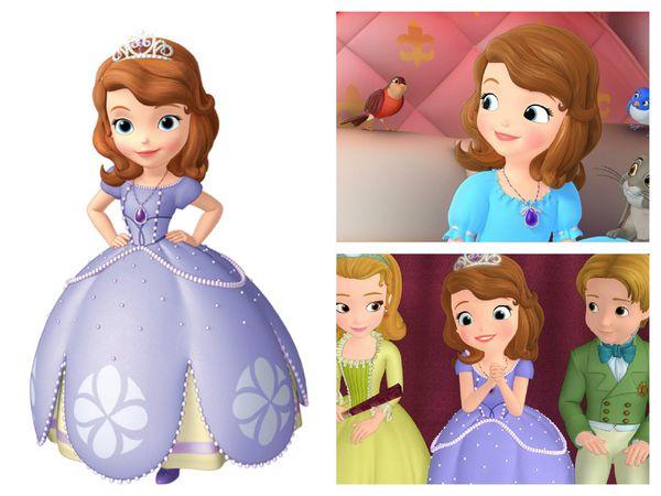 『卡通推薦』:迪士尼 Junior頻道 【小公主蘇菲亞】 @捲捲頭 Wonderful 品味。生活
