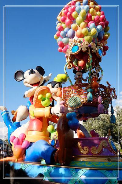 <東京親子自助旅行-10 > 迪士尼日間與夜間遊行。錯過會後悔的盛會~ @捲捲頭 Wonderful 品味。生活