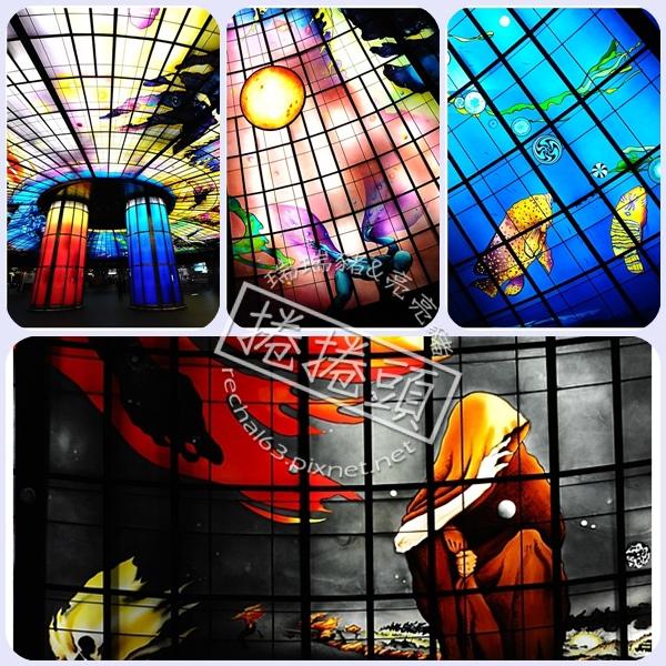 <高雄景點> 全球第二美的地鐵站 ↘ 高雄美麗島 @捲捲頭 Wonderful 品味。生活