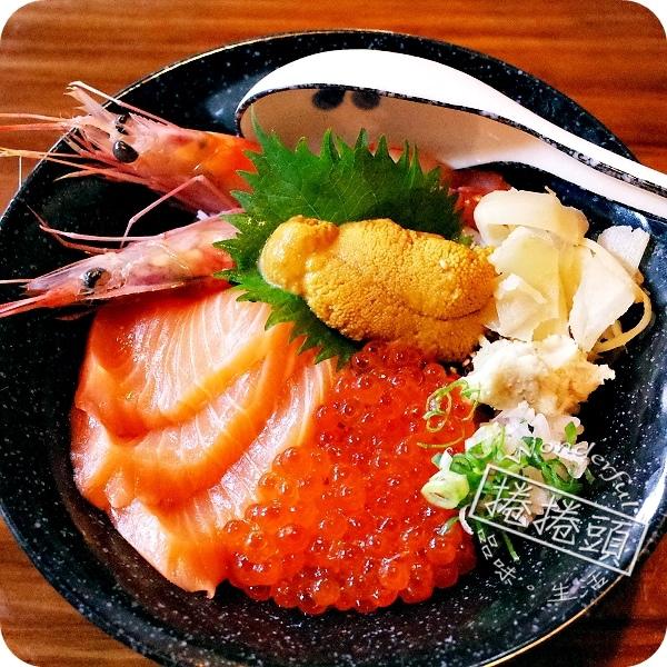 【宜蘭美食 】傳說中的北海四色丼~Haoすし 壽司新店開張湊熱鬧!! @捲捲頭 Wonderful 品味。生活