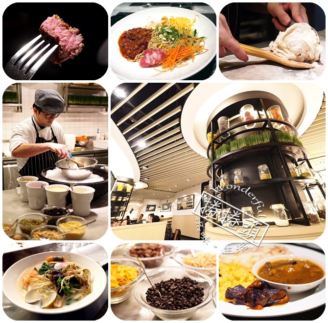 小而美,令人難忘的天母國賓 Market Cafe 自助餐 @捲捲頭 Wonderful 品味。生活
