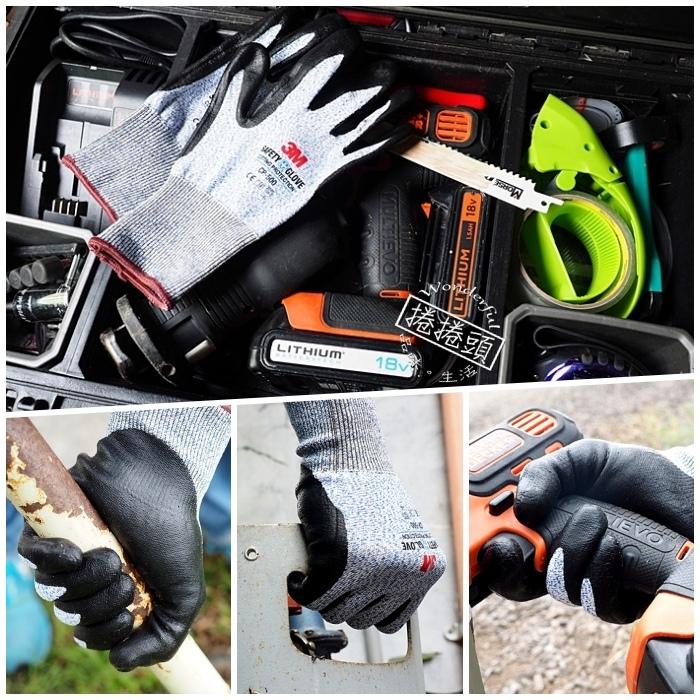 ▋3M 專業型防切割耐磨手套 ▋做家事、搬重物、使用刀具的時候,別忘了為你的寶貴的雙手買個保險! @捲捲頭 Wonderful 品味。生活
