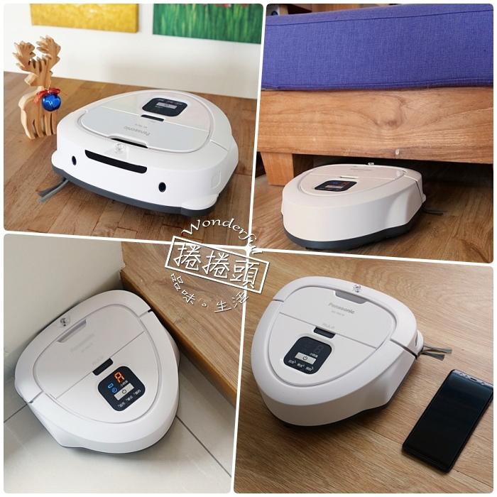 小家庭與獨身貴族的好幫手,集功能與外觀為一體的 Panasonic 日本製智慧掃地機器人MC-RSC10 mini Rulo @捲捲頭 Wonderful 品味。生活