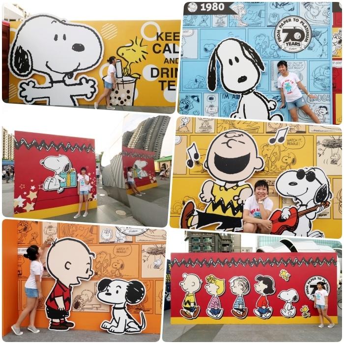 史努比Snoopy出沒台中 | 70週年巡迴特展免費入場!巨型打卡牆,超大扭蛋機、限量商品X飲品、還有夜間燈光秀,史努比鐵粉快過來!!! @捲捲頭 Wonderful 品味。生活